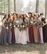 17 Best images about Bridesmaid color ideas for a Fall ...