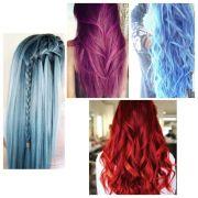 unnatural hair colour
