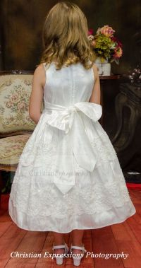 17 Best images about Silk First Communion Dress Style ...