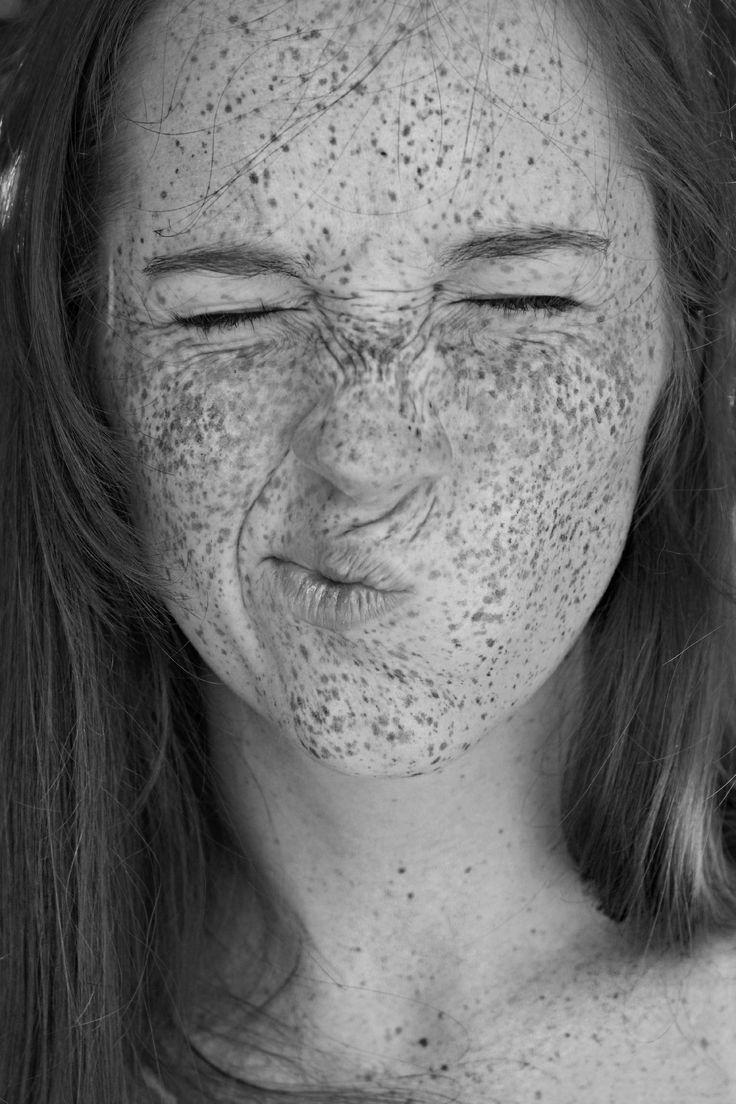 Freckles; I wish I had more of 'em!
