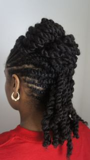 natural hair twist styles