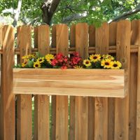 fence flower box | Garden | Pinterest | Teak, Planters and ...