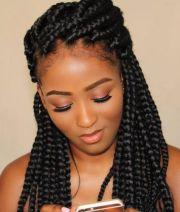 thick box braids ideas