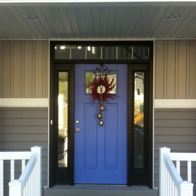 Periwinkle Front Door Home Pinterest Front Doors