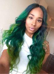 1671 green hair