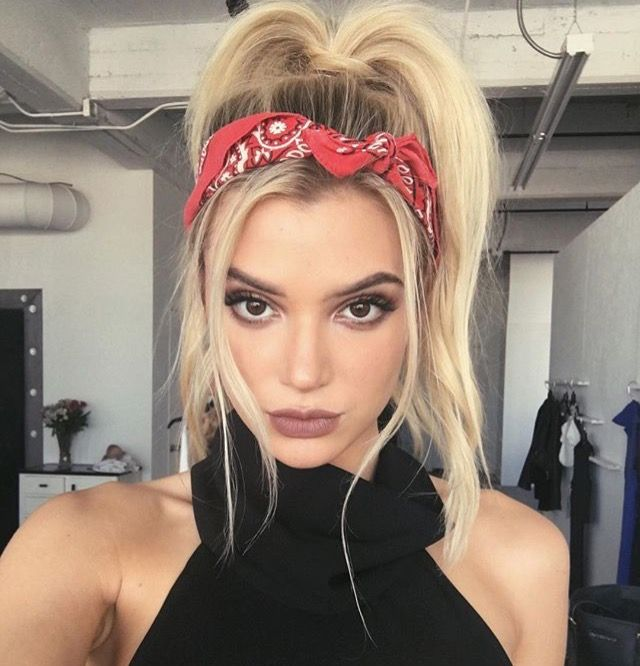25 Best Ideas About Bandana Hairstyles On Pinterest Bandana