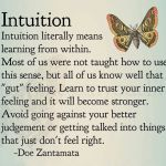 Intuition: That gut feeling you Shouldn't ignore