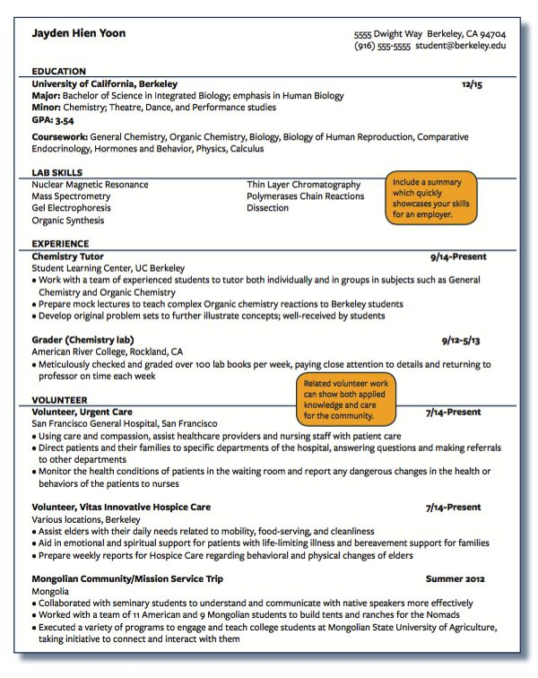 Resume Cv | Cover Letter And Resume Samples