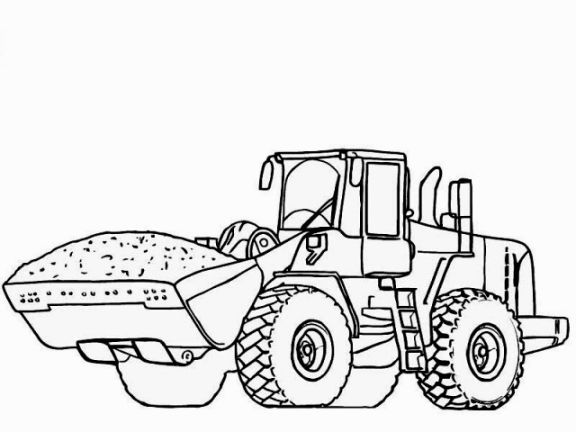 25+ best ideas about Tractor coloring pages on Pinterest