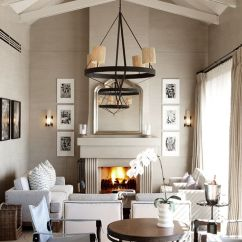 How To Decorate Long Rectangular Living Room Arrange Furniture With Corner Tv - Vaulted Ceilings | House Pinterest ...