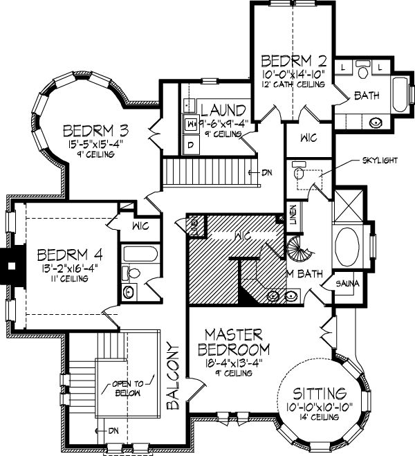 Victorian 2 story. Possibly make the left bath a Jack and