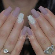 matte acrylic nails ideas