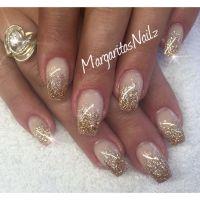 Best 25+ Gold glitter nails ideas on Pinterest   Gold ...