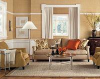 Interesting Beige Living Room Designs Brown Sofa Brown ...