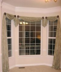 Home Design and Decor , Pretty Window Scarf Ideas : Bay ...