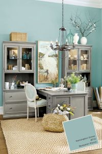 Best 25+ Home office colors ideas on Pinterest | Blue home ...