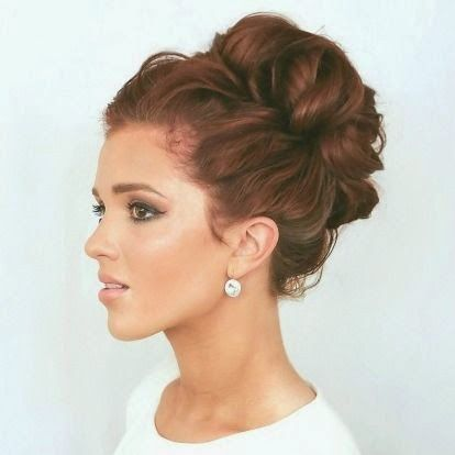 25 Best Ideas About Curly Bun On Pinterest Messy Curly Bun