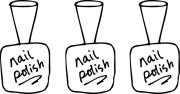 > nail salon clipart