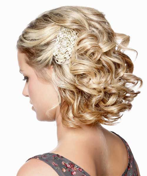 25 Best Ideas About Wedding Hairstyles For Short Hair On
