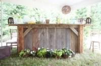 Rustic Outdoor Bar | Garden Ideas | Pinterest | Be cool ...