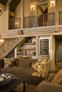 25+ best ideas about Rustic living rooms on Pinterest