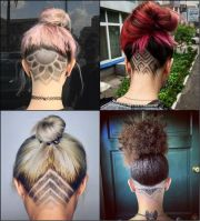 shaved head design ideas