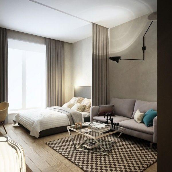 25 best ideas about Studio apartment divider on Pinterest