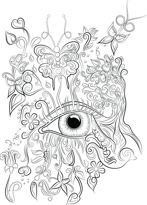 1000+ images about Zentangles ~ Adult Colouring on