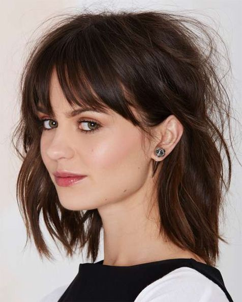25 Best Ideas About Fringe Hairstyles On Pinterest Fringes