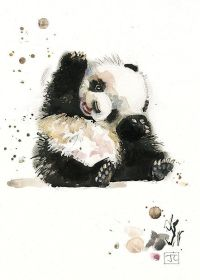 Best 25+ Panda art ideas on Pinterest