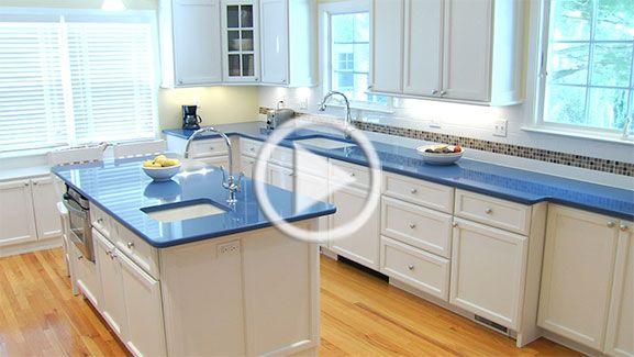 white kitchen cabinets blue countertops white kitchen cabinets with blue countertops - Google
