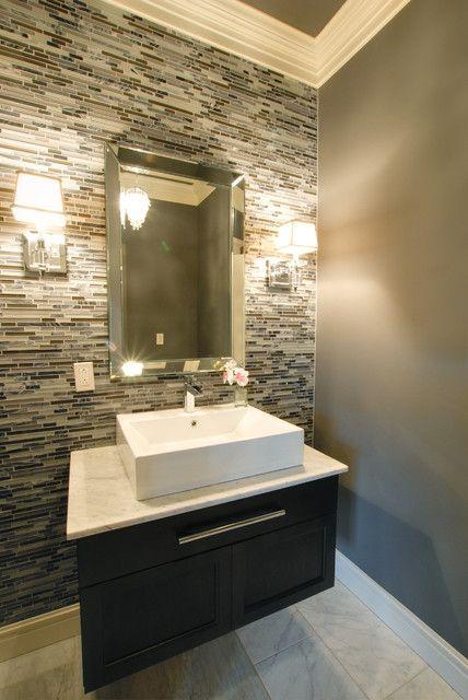 25 Modern Powder Room Design Ideas  Powder room design Powder and Vanities