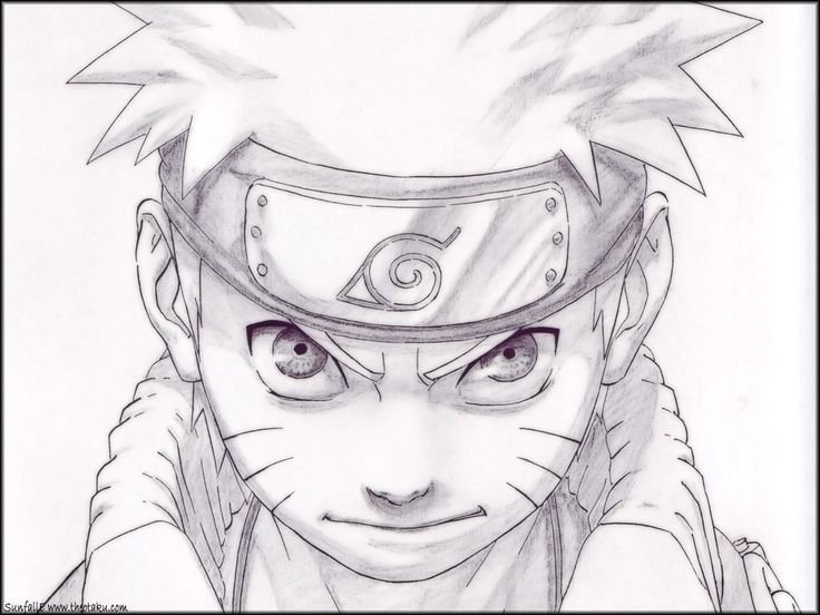 Anime Naruto Drawings Cool Drawings Mewarnai Cool Drawings