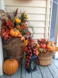 Best 25+ Fall porch decorations ideas on Pinterest