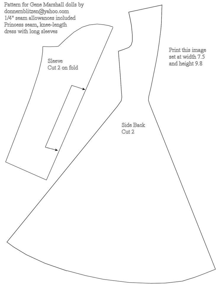 25+ best ideas about Doll Dress Patterns on Pinterest