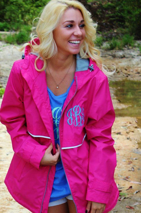 monogrammed jackets