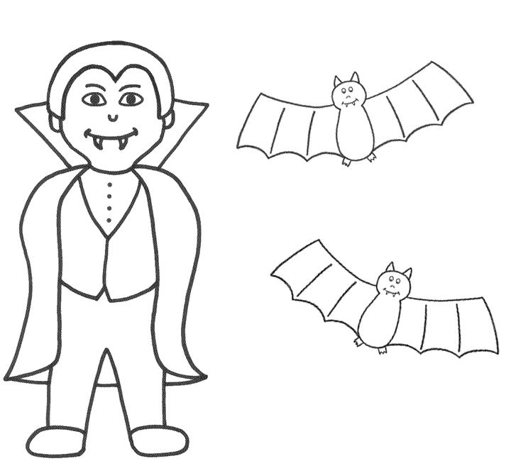 Vampire Bats Coloring Pages Free: Vampire Bats Coloring