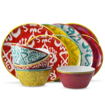 Mudhut Ikat Dinnerware Collection
