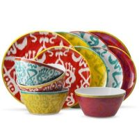Mudhut Ikat Dinnerware Collection | Products I Love ...