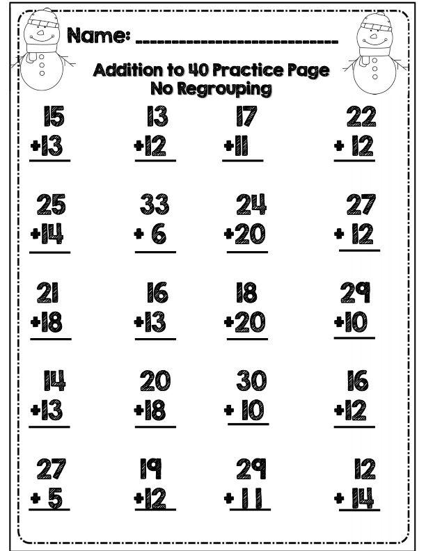 27 best images about Math Worksheets for Pre-K & K on