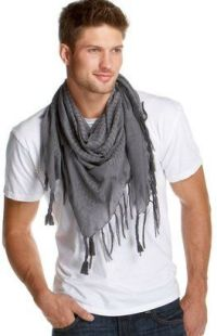 this guy knows. the man-scarf is sexy | I'll only date you ...