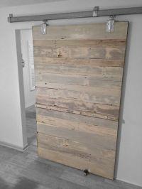 White Wash Reclaimed Cedar Sliding Door.   Reclaimed ...