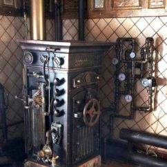 Cool Kitchen Gadgets Colored Islands Steampunk Boiler | Furniture Pinterest ...