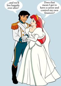 """Prince: """"...and we'll live happily ever after!"""" Princess ..."""