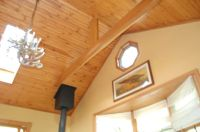 tongue in groove pine ceiling for where we are vaulting ...