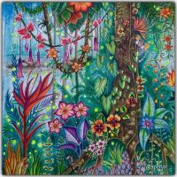 17 Best images about Magical jungle coloring book on ...
