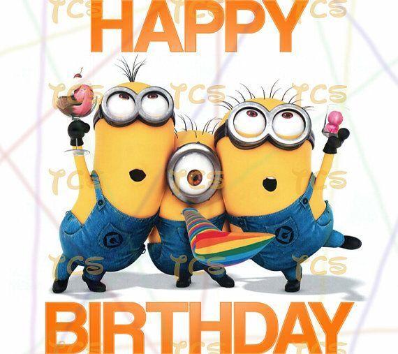 Minion Birthday Birthday Photos Pinterest Birthdays