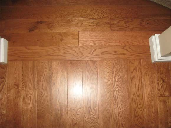 Hardwood Floors Borders Between Rooms   floor runs the other way we will change the