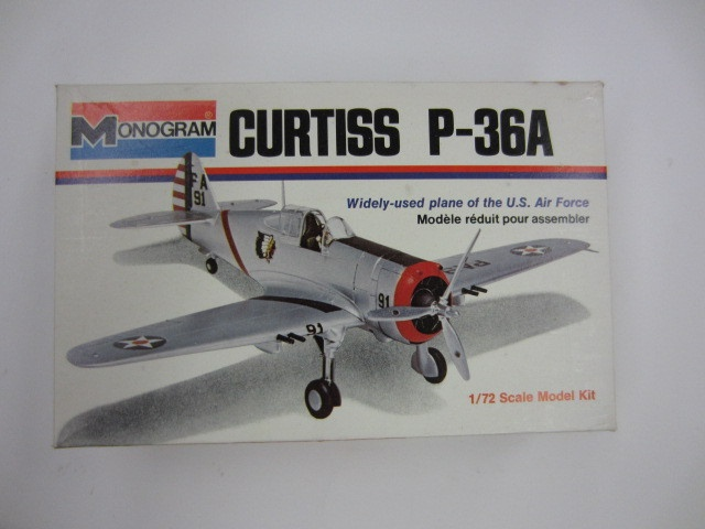 monogram airplane models