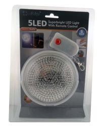 InEdge Wireless Superbright 5 LED Light